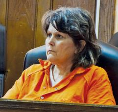 Dawn Phillips, who has been charged with over 60 counts of disturbing graves at Lone Oak Church, appeared in Graham County Superior Court on Sept. 26. Photo by Art Miller/amiller@grahamstar.com