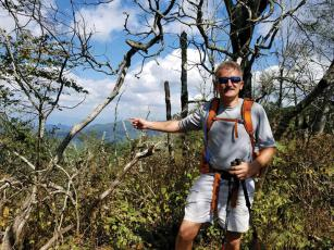 Navy Veteran Lonnie Bedwell was one of three blinded vets to section-hike the Appalachian Trail this year.