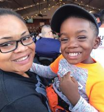 "On Oct. 12, 28-year-old Atatiana Jefferson (pictured here with her nephew) was killed in her own home by a Ft. Worth police officer responding to an ""open structure"" call."