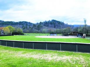 "Judy Nichols Memorial Field – home of the Robbinsville High School Lady Knights – was set to host a team that very well could have contended for a state championship this season. New seating was installed behind home plate and improvements were made field-wide in preparation for the year, but the cancelation of the remainder of the school year is going to leave seniors school-wide wondering, ""What if?"" Photo by Kevin Hensley/editor@grahamstar.com"