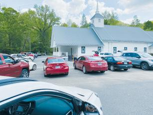 Sweetgum Baptist Church on Old Tallulah Road has been one of the few in Graham County to continue worship services during the COVID-19 pandemic, but has opted to hold parking lot services. A federal judge ruled Saturday that North Carolina  cannot outlaw indoor services and Sweetgum itself opted to not convene in the  sanctuary until Sunday, May 24.
