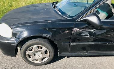 Want to know how much damage it takes to total a 20-year-old Civic? See above for reference.