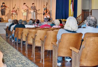 "The Stecoah Valley Cultural Arts Center was packed for this concert in 2018, but the 2020 ""An Appalachian Evening"" concert series will be restricted to livestream-only. Photo by Art Miller/amiller@grahamstar.com"