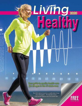 Living Healthy 2020 Front Cover