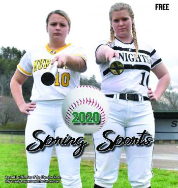 Spring Sports Preview 2020 Front Cover